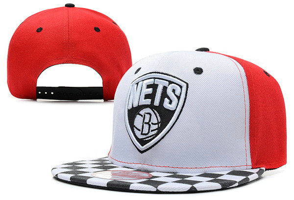 Brooklyn Nets Snapback Hat XDF 5