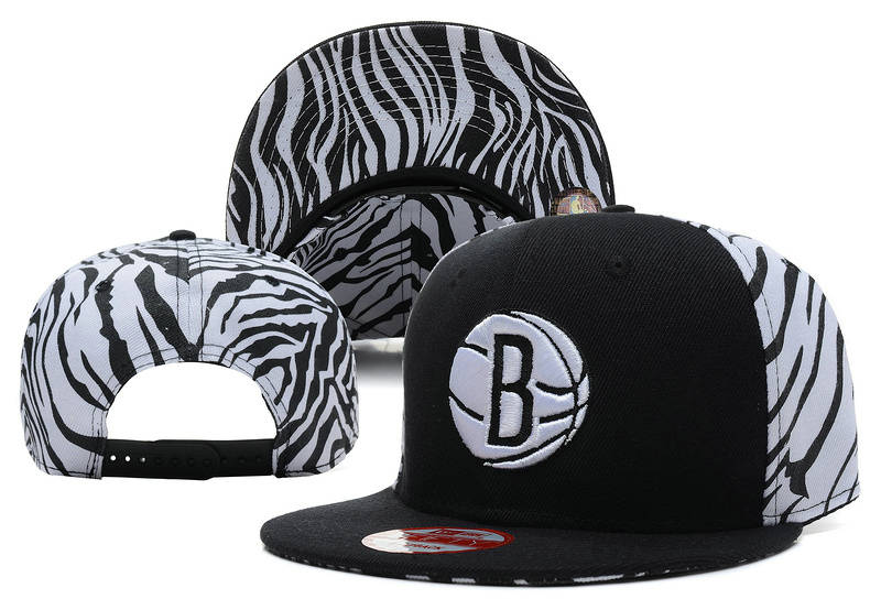 Brooklyn Nets Snapback Hat XDF 6
