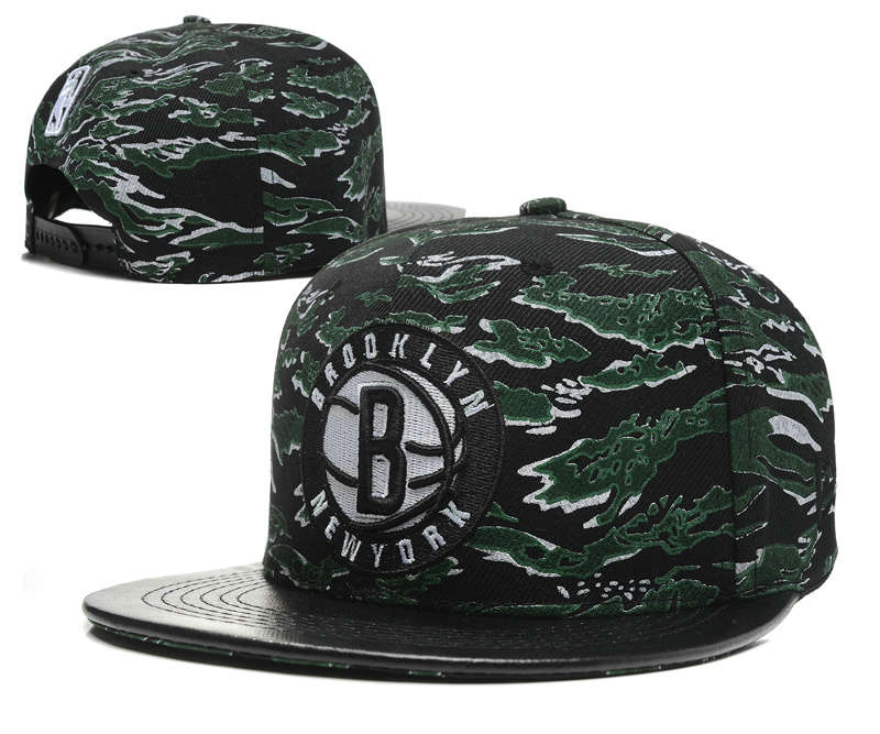 Brooklyn Nets Snapback Hat SD1 0512