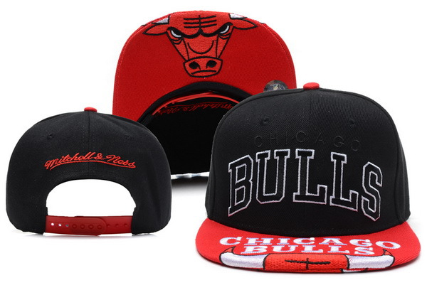 Chicago Bulls Snapback Hat XDF 24