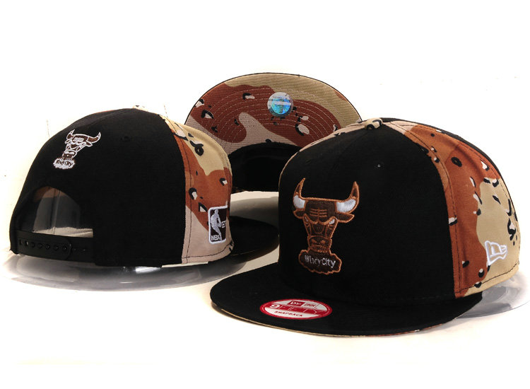 Chicago Bulls Snapback Hat YS 6