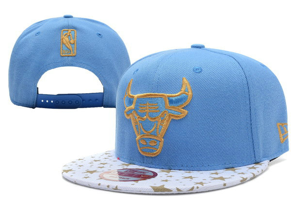 Chicago Bulls Blue Snapback Hat XDF