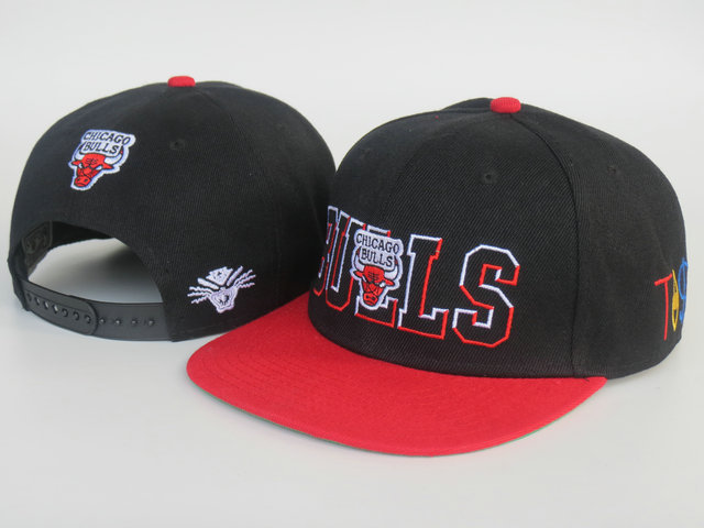 Chicago Bulls Snapback Hat LS 2