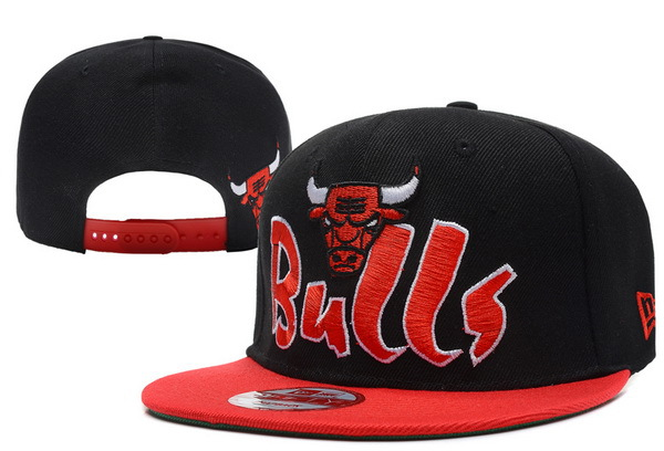 Chicago Bulls Snapback Hat XDF 48