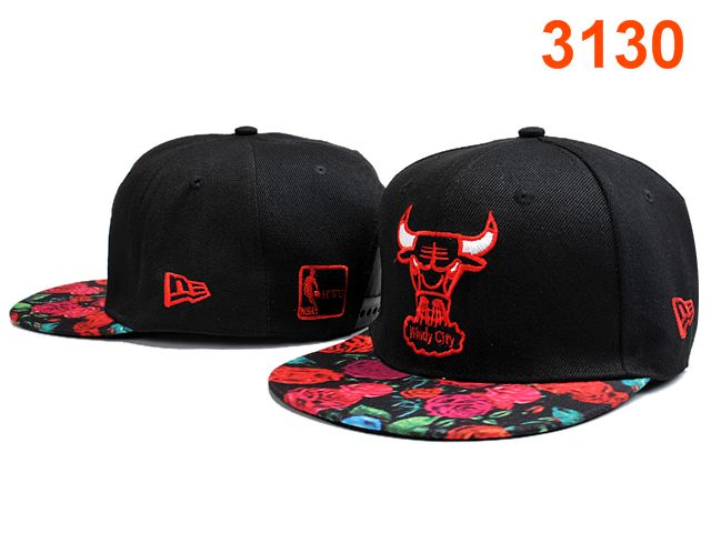 Chicago Bulls Snapback Hat PT 0528
