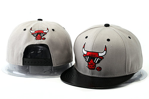 Crazy Bulls Grey Snapback Hat YS 5 0528