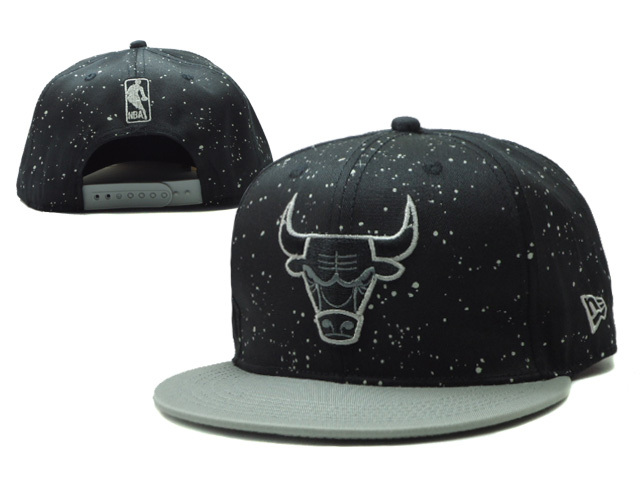 Chicago Bulls Snapback Hat SF 1 0606