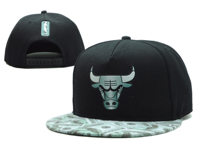 Chicago Bulls Snapback Hat SF 4 0606