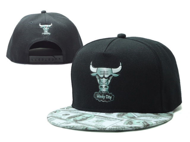 Chicago Bulls Snapback Hat SF 0606