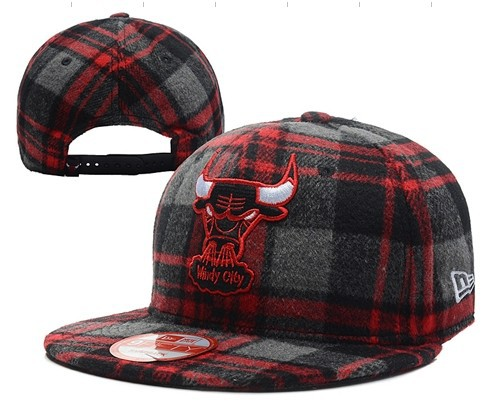 Chicago Bulls Snapback Hat DF