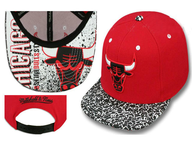 Chicago Bulls Snapback Hat LS 1