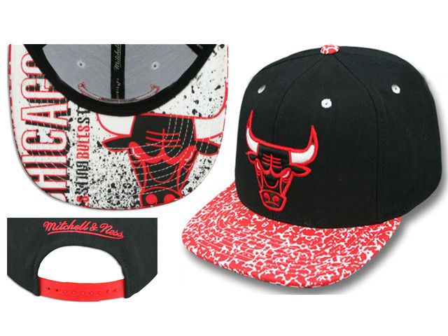 Chicago Bulls Snapback Hat LS