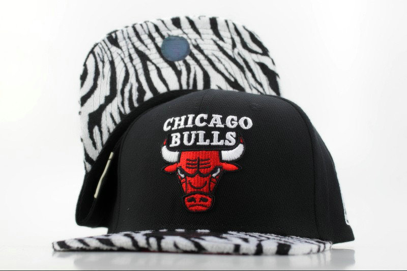 Chicago Bulls Snapback Hat QH 1
