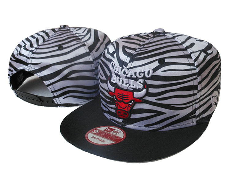 Chicago Bulls Snapback Hat SJ 1