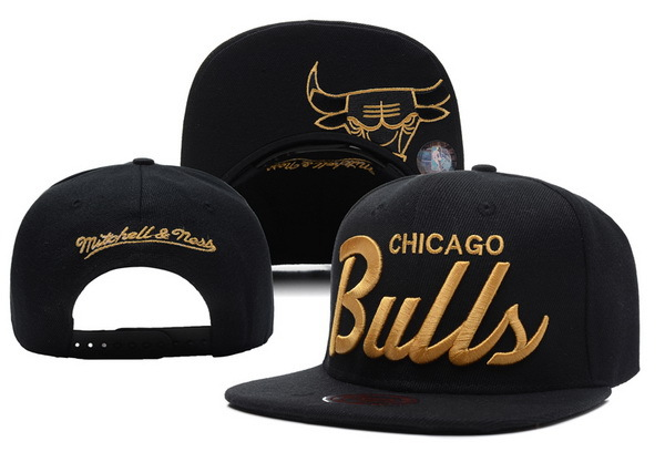 Chicago Bulls Snapback Hat XDF 26