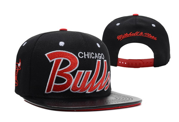 Chicago Bulls Snapback Hat XDF 27