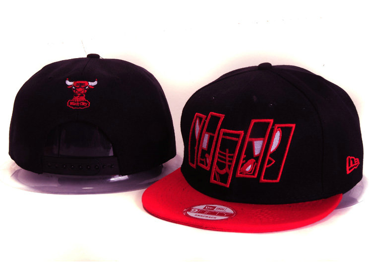 Chicago Bulls Snapback Hat YS 10