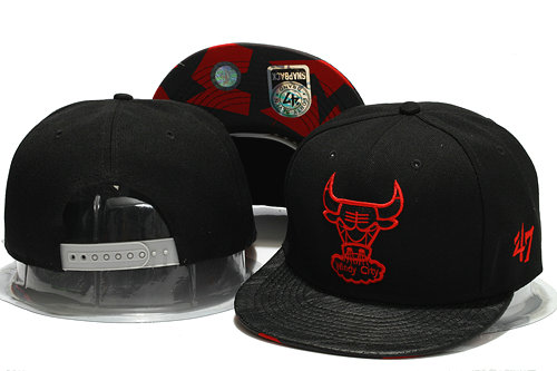 Chicago Bulls Snapback Hat YS 1 0701