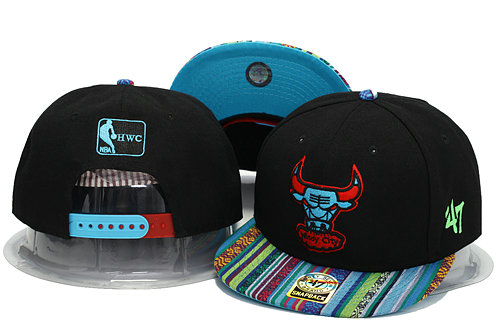 Chicago Bulls Snapback Hat YS 2 0701
