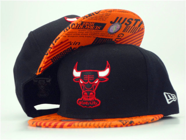 Chicago Bulls Snapback Hat ZY 1