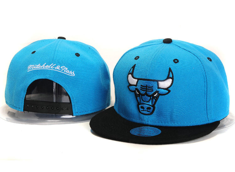 Chicago Bulls Blue Snapback Hat YS