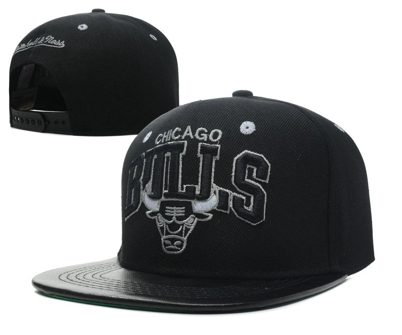 Chicago Bulls Snapback Hat SD 3