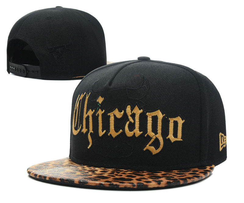 Chicago Bulls Snapback Hat SD 4