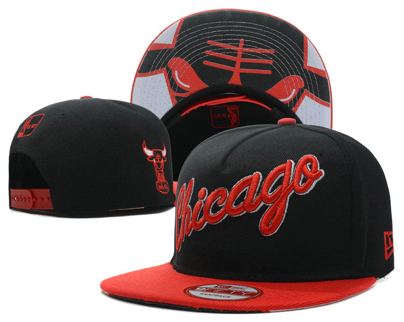 Chicago Bulls Snapback Hat SD