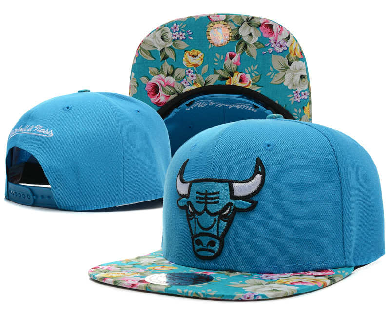 Chicago Bulls Blue Snapback Hat SD