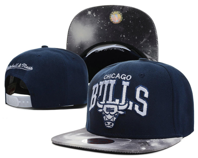 Chicago Bulls D.Blue Snapback Hat SD