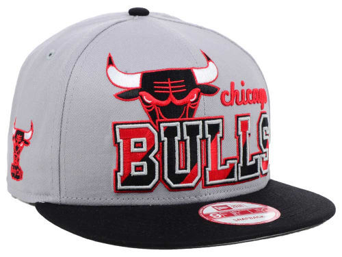 Chicago Bulls Grey Snapback Hat SD 1