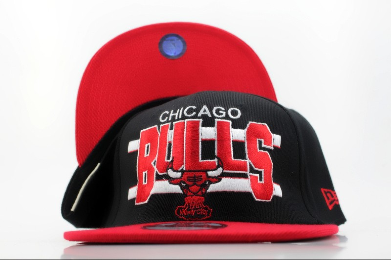 Chicago Bulls Snapback Hat QH 3