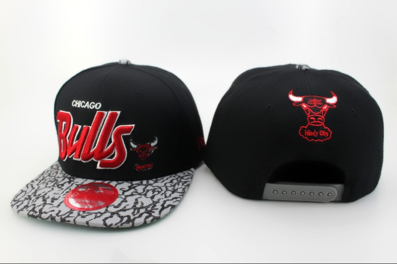 Chicago Bulls Snapback Hat QH 4