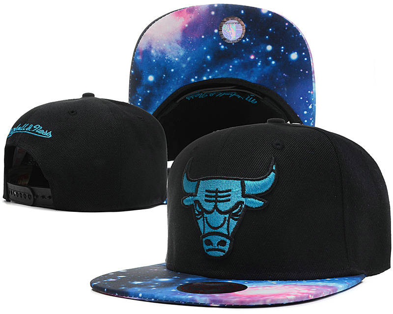 Chicago Bulls Snapback Hat SD 12