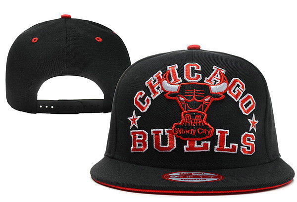 Chicago Bulls Snapback Hat XDF 35