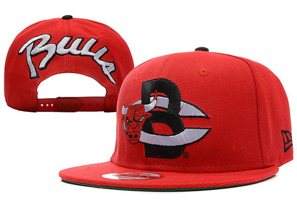 Chicago Bulls Snapback Hat XDF 39