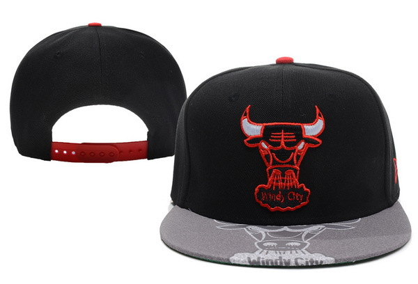 Chicago Bulls Snapback Hat XDF 40