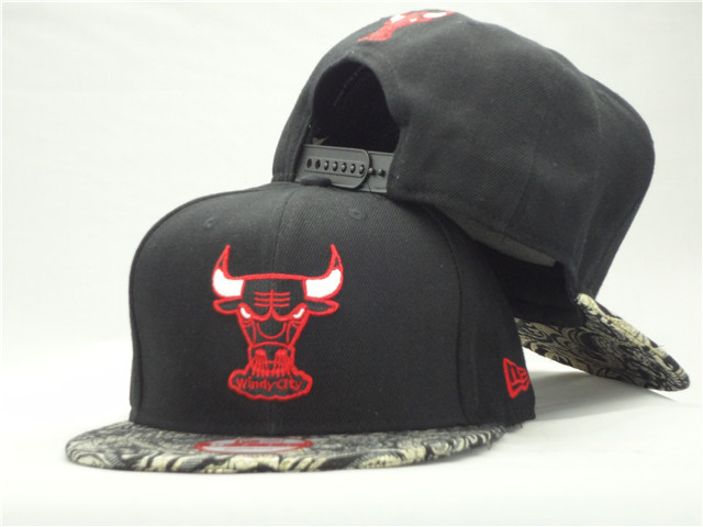 Chicago Bulls Snapback Hat ZY