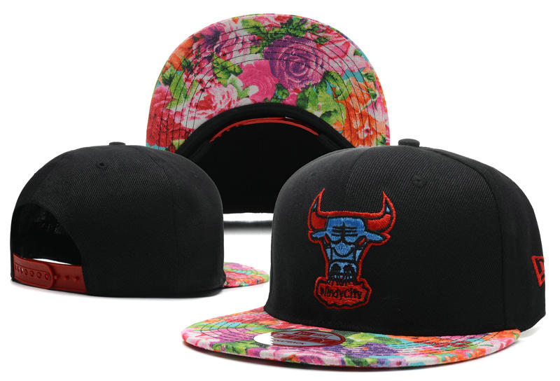 Chicago Bulls Snapback Hat DF 6 0613