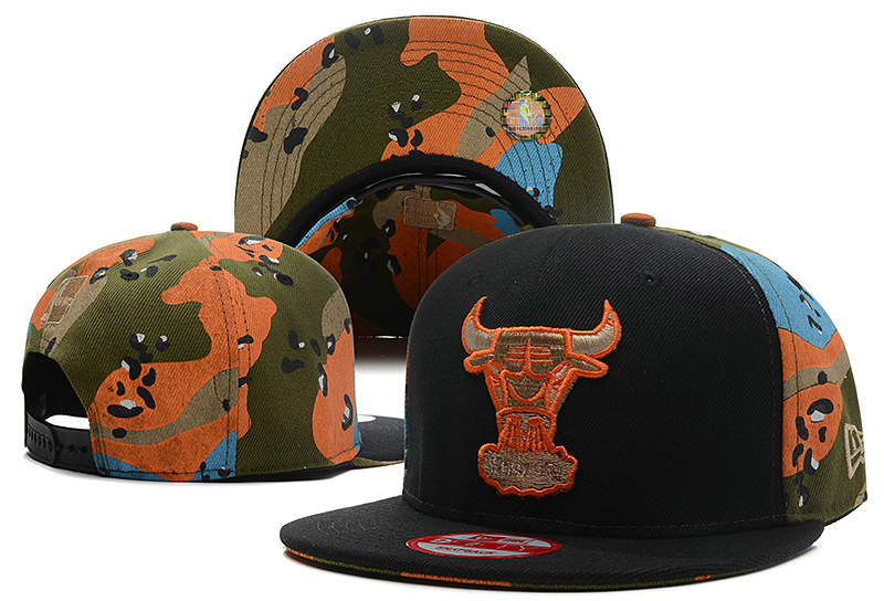 Chicago Bulls Snapback Hat DF 0613