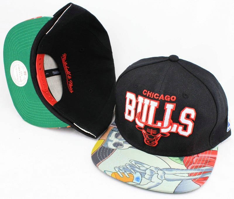 Chicago Bulls Snapback Hat JT 0613