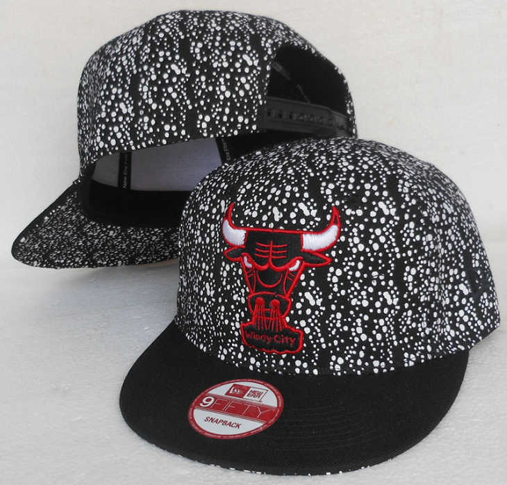 Chicago Bulls Snapback Hat SJ 1 0613