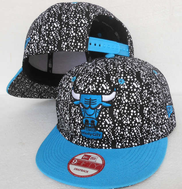 Chicago Bulls Snapback Hat SJ 2 0613