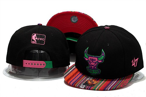 Chicago Bulls Snapback Hat YS 2 0613
