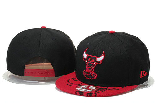 Chicago Bulls Snapback Black Hat 1 GS 0620