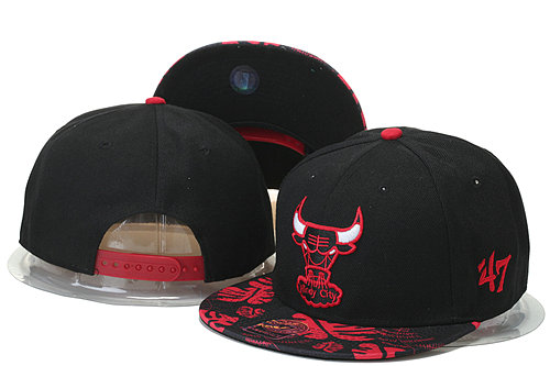Chicago Bulls Snapback Black Hat 3 GS 0620