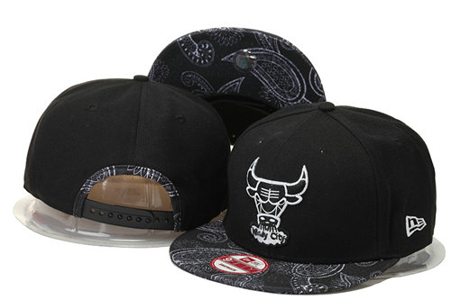 Chicago Bulls Snapback Black Hat 4 GS 0620