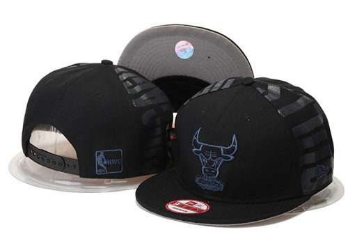 Chicago Bulls Snapback Black Hat GS 0620
