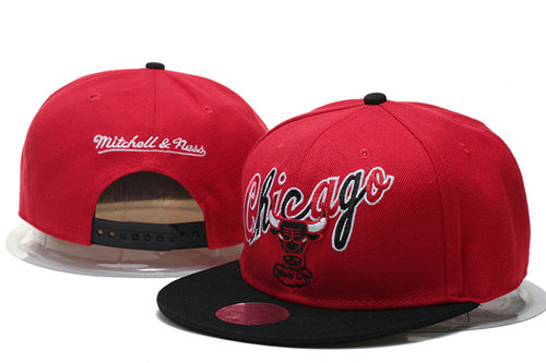 Chicago Bulls Snapback Red Hat 2 GS 0620