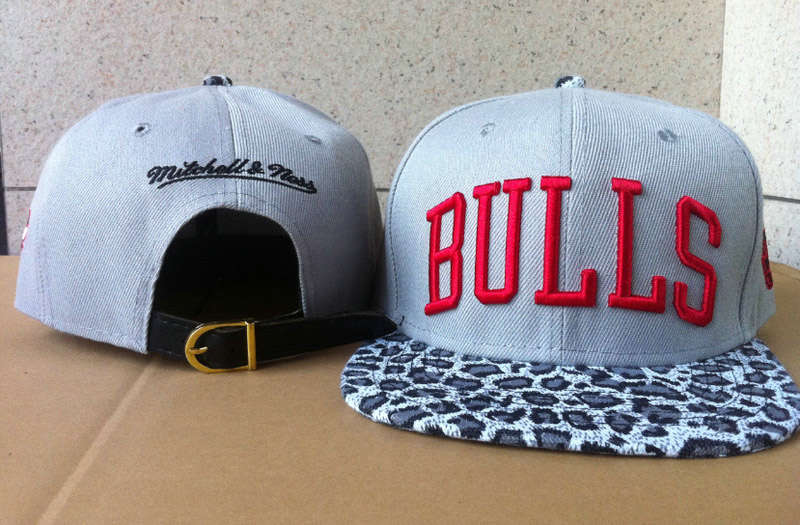Chicago Bulls Snapback Hat 60D 0721